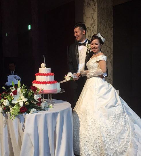 契約プロ青山加織ちゃん結婚式