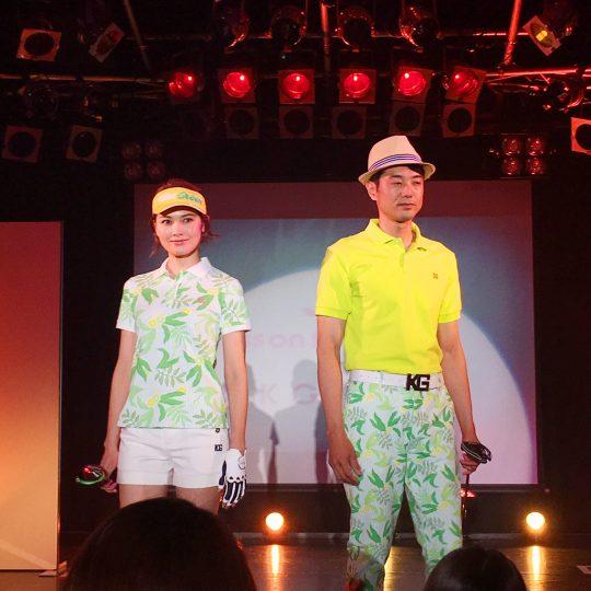 2018SSゴルフウェア ファッションショー動画!