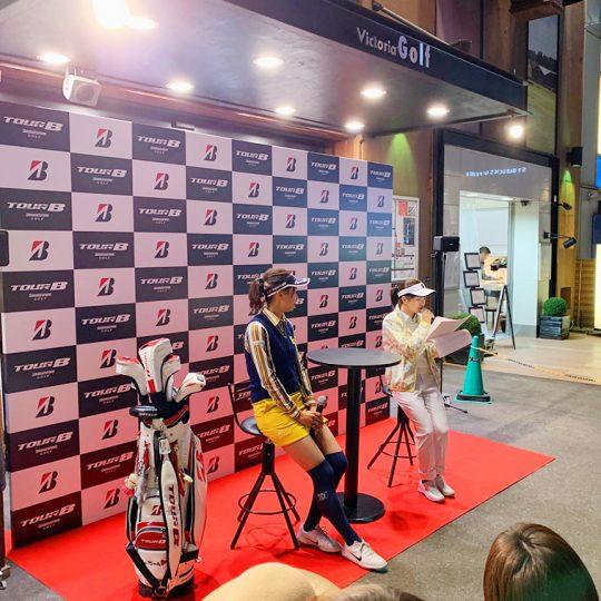 2019年11月17日(日)  ヴィクトリアゴルフ新宿店で行われた川崎志穂プロイベント大盛況でした!