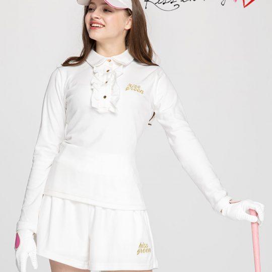 【ゴルフレンジでも可愛く♪】冬の練習で春のゴルフに差がでます!